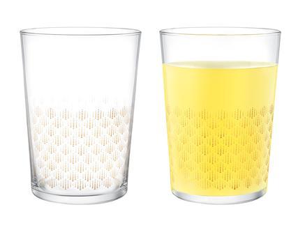 Pierretta-Golden Rain 4'lü Meşrubat Bardağı Seti 510 ml