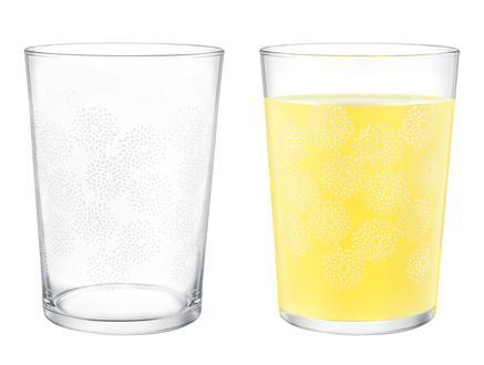 Pierretta-White Flowers 4'lü Meşrubat Bardağı Seti 510 ml