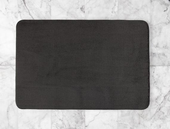 Darvell Banyo Paspası - Antrasit - 100x150 cm