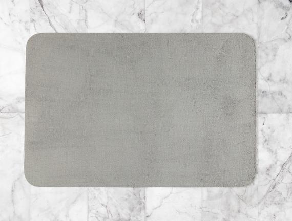 Darvell Banyo Paspası - Gri - 100x150 cm