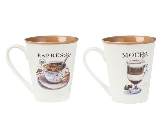 Plaisir Émotif 2'li Kupa Seti - Açık Kahve