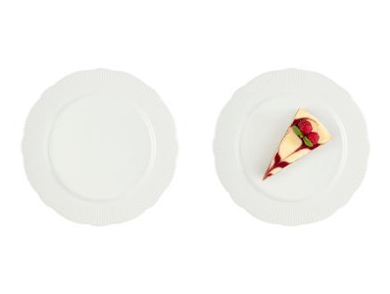 Paisible New Bone China 4'Lü Pasta Tabağı Seti