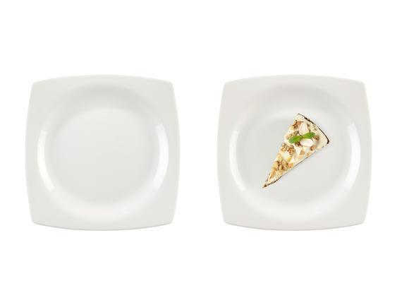 Aromis New Bone China 4'Lü Pasta Tabağı Seti