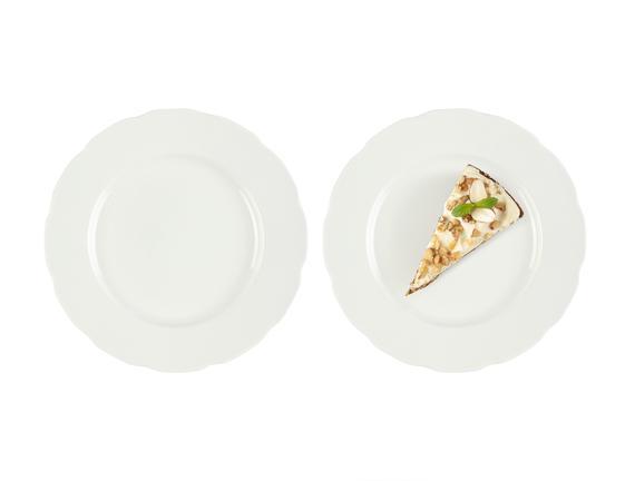 Fleur New Bone China 4'Lü Pasta Tabağı Seti
