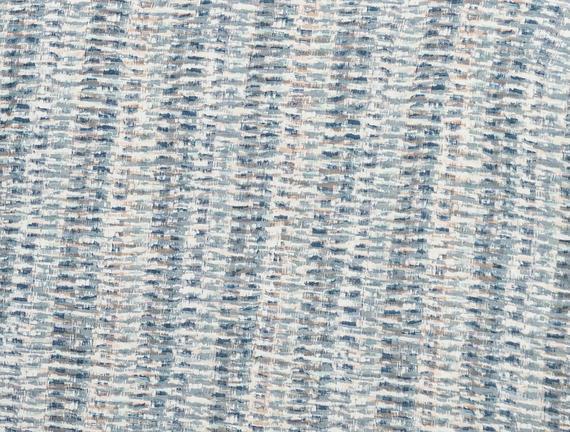 Pansy Tek Kişilik Madame Coco Crep Baskılı Nevresim Takımı - Mavi