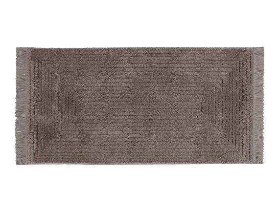 Diane Saçaklı Halı - Vizon - 120x180 cm