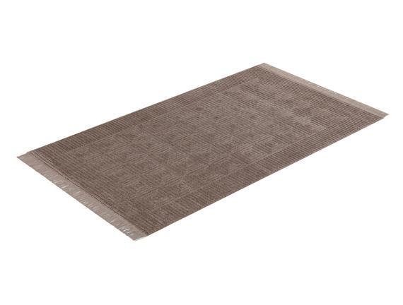 Laura Saçaklı Halı - Vizon - 80x150 cm