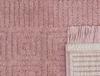 Laura Saçaklı Halı - Pembe - 80x150 cm