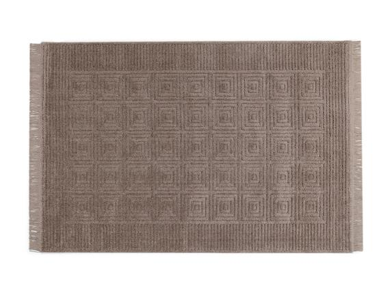 Laura Saçaklı Halı - Vizon - 160x230 cm