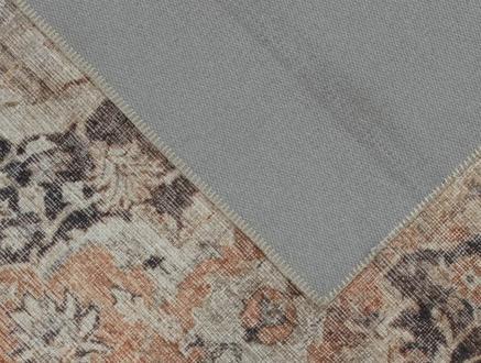 Trace Dijital Baskılı Halı - Bej - 80x300 cm
