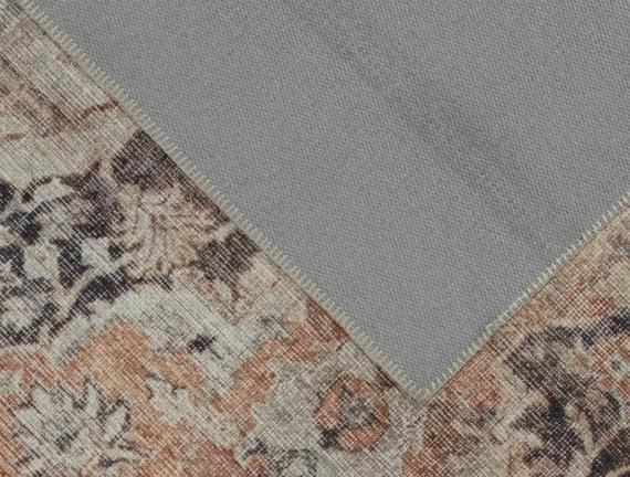 Trace Dijital Baskılı Halı - Bej - 120x180 cm