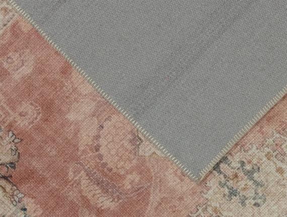 Norice Dijital Baskılı Halı - Bej - 80x300 cm