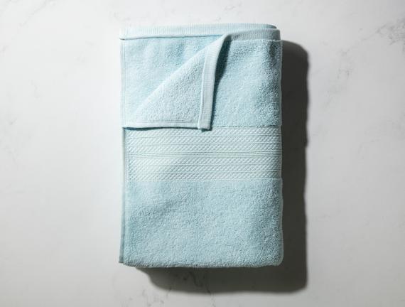 Roxane Banyo Havlusu - Mint Yeşili - 70x140 cm