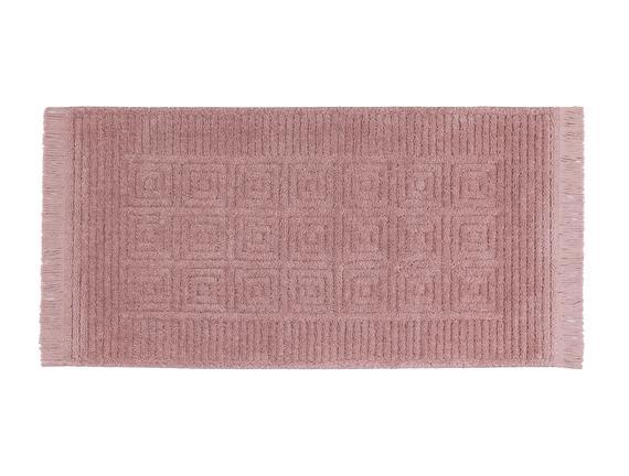 Laura Saçaklı Halı - Pembe - 120x170 cm