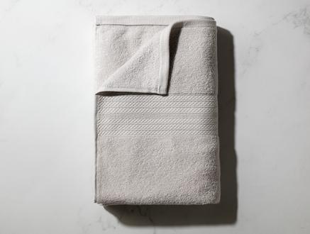 Roxane Düz Banyo Havlusu - Gri - 70x140 cm