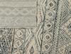 Louis Halı - Açık Gri / Koyu Gri - 80x150 cm