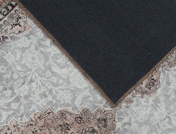 Aluin Dijital Baskılı Halı - Kahverengi - 80x150 cm
