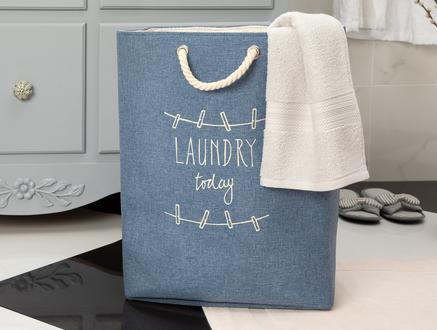 Gia Çamaşır Sepeti - Mavi