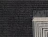 Diane Saçaklı Halı - Antrasit - 80x150 cm