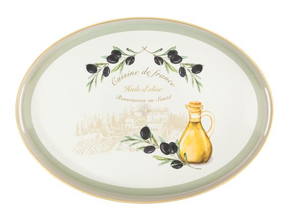 Olive Oval Tepsi 30x42 cm