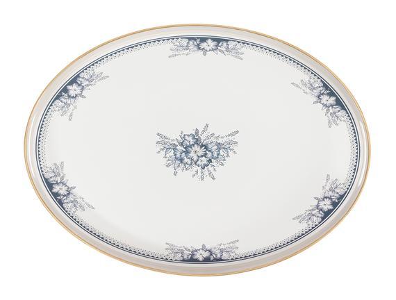 Blanche Oval Tepsi 30x42 cm