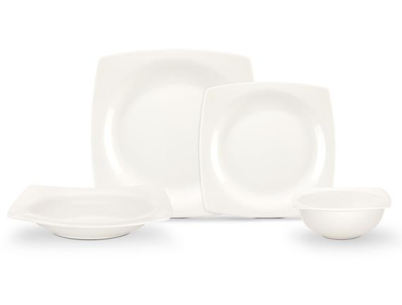 Aromis New Bone China 8 Parça Yemek Takımı