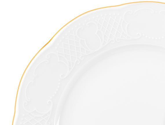 Milon 8 Parça Yemek Takımı - Altın