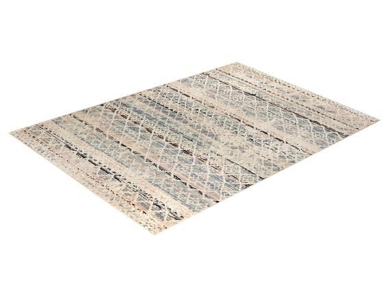 Abrial Halı - Mavi / Bej - 200x290 cm