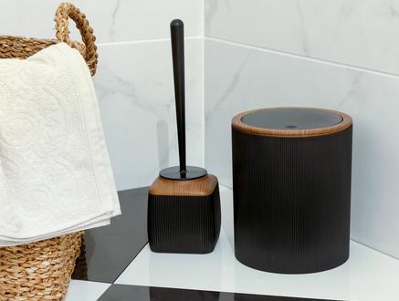 Bois 2'li Banyo Seti - Siyah