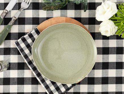 Patricia 4'lü Pasta Tabağı Seti - Yeşil