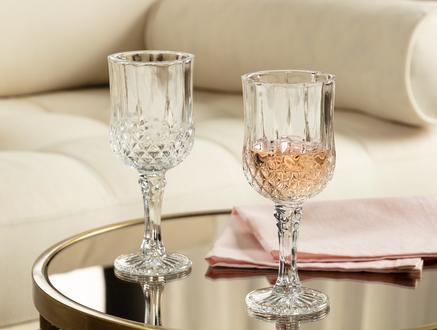 Audrey 4'lü Orta Boy Şarap Kadehi Seti