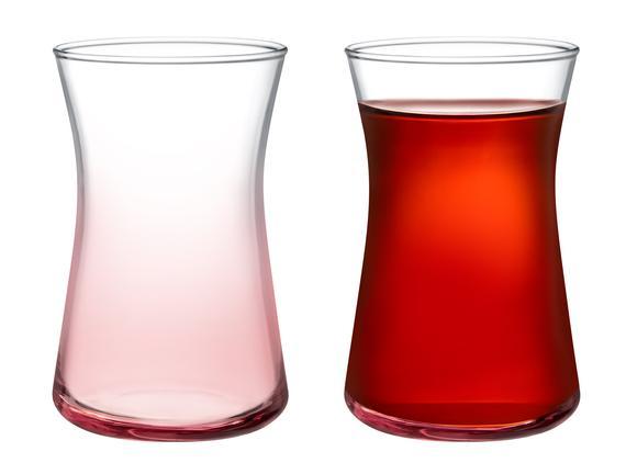Esperanza Pink Touch 6'lı Çay Bardağı Seti 170 ml