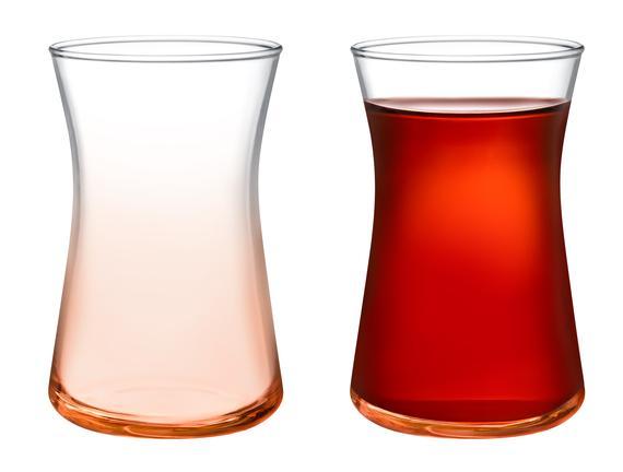 Esperanza -Orange World 6'lı Çay Bardağı Seti 170 ml