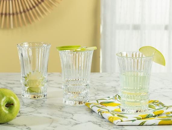 Evonna 4'lü Meşrubat Bardağı Seti - 225 ml