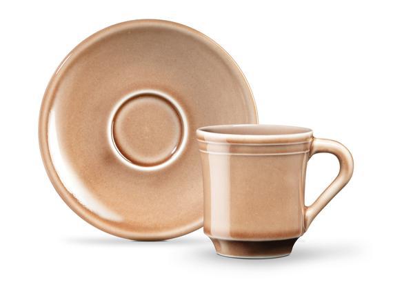 Beaute 2'li Kahve Fincan Seti - Pudra