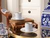 Lenora 2'li Kahve Fincan Seti - Soft Gri