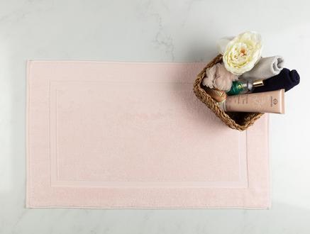 Saville Ayak Havlusu - Pembe - 50x80 cm