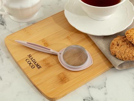 Petit Çay Süzgeci - Soft Pudra