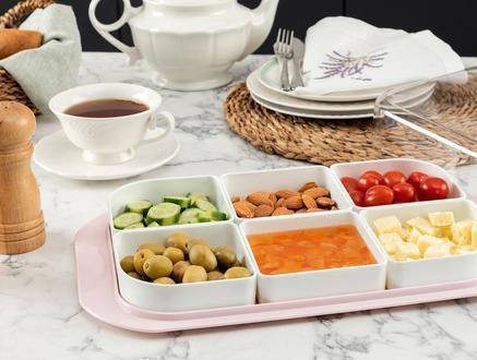Petit 6'lı Kahvaltılık - Soft Pudra