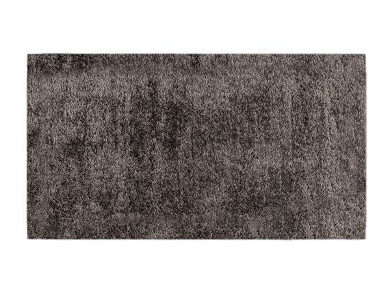 Remy Peluş Halı - Antrasit - 80x150 cm