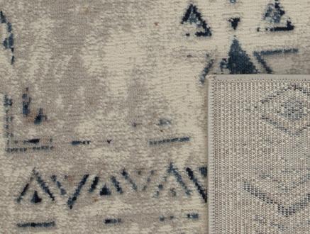 Filicia Halı - Lacivert / Açık Bej - 80x150 cm