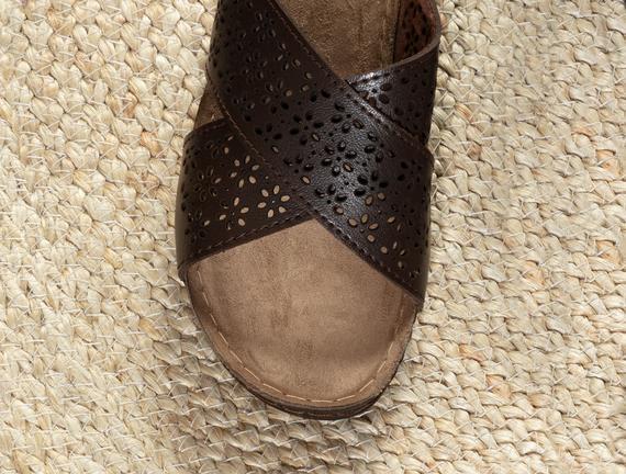 Guérison Kadın Terlik - Kahverengi