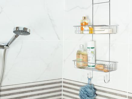Norme Krom Duşakabin Şampuanlık