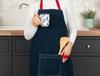 Fiori Mutfak Önlüğü - Lacivert