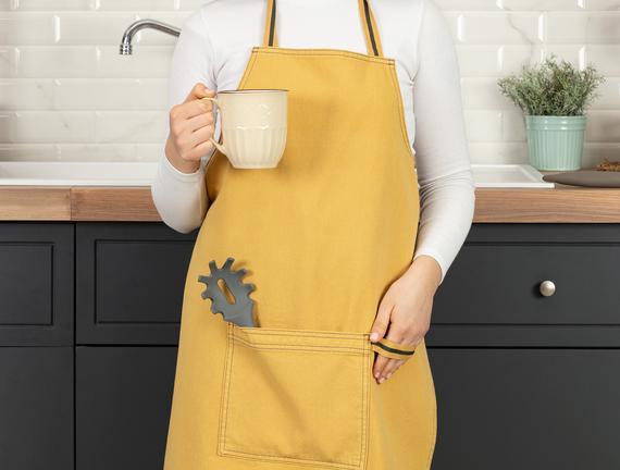 Fiori Mutfak Önlüğü - Sarı