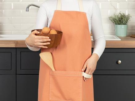 Fiori Mutfak Önlüğü - Turuncu