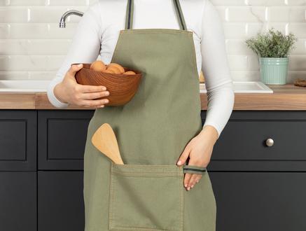 Fiori Mutfak Önlüğü - Yeşil