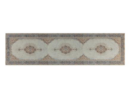 Mandel Dijital Baskılı Halı - Bej - 80x300 cm