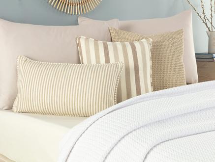 Adorlee Çift Kişilik Yıkamalı Yatak Örtüsü - Beyaz