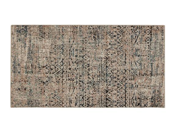 Tulipe Halı - Koyu Bej - 80x150 cm